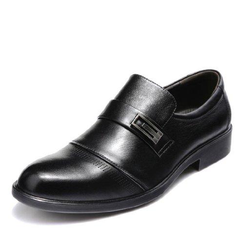 FGN 富贵鸟 男子秋季新款 英伦低帮鞋 商务正装鞋 真皮皮鞋 A383832