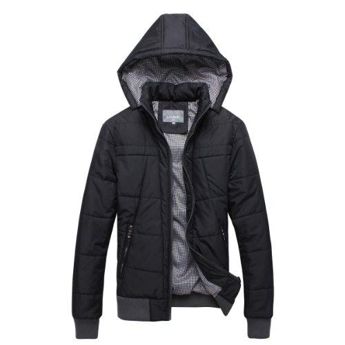 LOVINJK男士冬棉衣立领军装男保暖厚外套欧美风AMC032