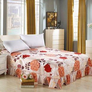 多功能床罩床裙花边欧式床单床