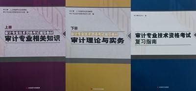 2013年审计师考试教材上下册+指南 初级中级通用 全套3本 送光盘.pdf