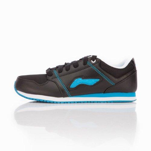 Li Ning 李宁 男经典运动休闲鞋ALCG339-1(简洁的线条,人性化透气孔的设计,保证了舒适的鞋内环境。鞋底纹路立体感强,防滑、耐磨性能进一步完善。穿着更加轻便舒适,贴合脚面)
