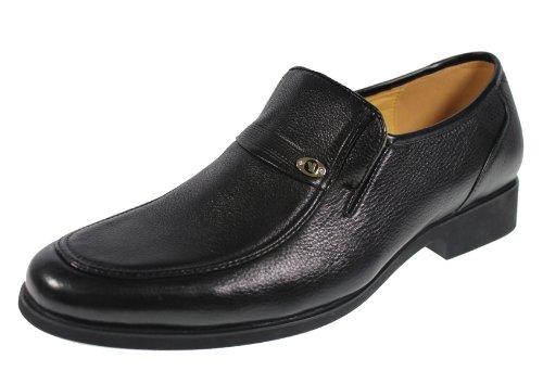 YEARCON 意尔康 日常休闲鞋真皮鞋男单鞋套脚男鞋子 25ZE92308A