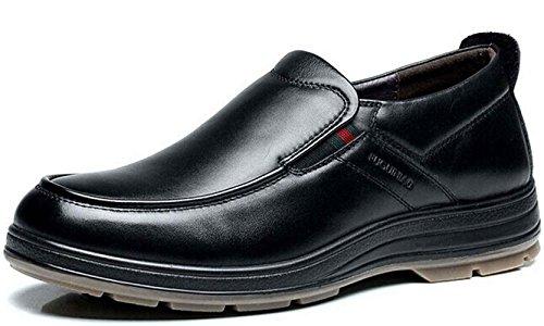 FGN 皮鞋 男士 时尚商务休闲皮鞋 型男正装鞋 套脚尊贵男鞋11403227