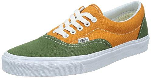VANS 万斯 CL 男 板鞋 硫化鞋 VN-0Y6XFFF10500M 绿色/橙色 44.0