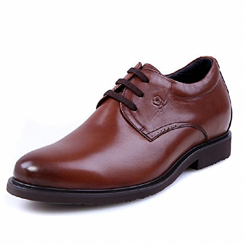 Montagut 梦特娇 正品 2013秋款牛皮鞋子系带特小码36码 内增高男鞋A3312419