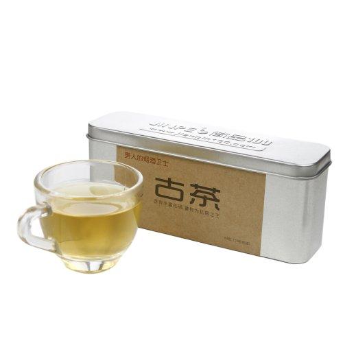 简品100 古茶 精装茶叶礼盒 养肝解酒 袋泡茶 男人的烟酒卫士-图片