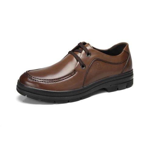 骆驼牌 男鞋 商务真皮头层皮男皮鞋英伦休闲鞋板鞋男款休闲鞋子 W32272077