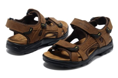 Deewahua 新款尚英伦超酷潮男户外凉拖 透气时尚潮流男士日常户外沙滩鞋 溯溪鞋 登山凉鞋 徒步鞋