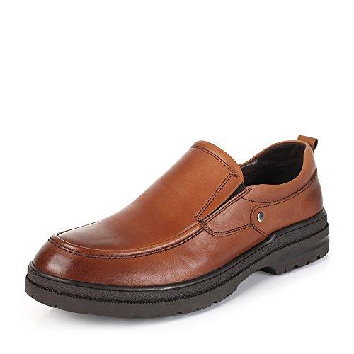 Senda 森达 森达冬季专柜同款打蜡牛皮男皮鞋 HE103DM5
