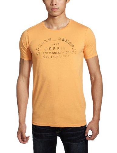 Esprit 埃斯普利特 男式 舒适纯棉百搭短袖T恤 TI9650F