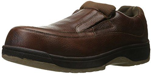 Florsheim Work Men's Lucky FS2405 Work Shoe, Brown, 14 D US