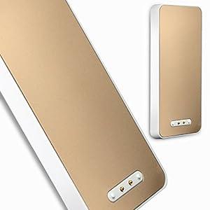 苹果手机iphone4/4s/5/5s专用白色超薄背夹电池无线
