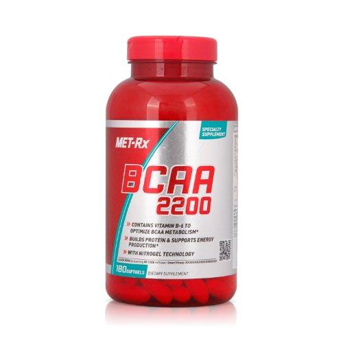 MET-Rx 美瑞克斯 支链氨基酸2200营养软胶囊180粒(进口)-图片