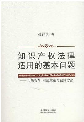 知识产权法律适用的基本问题:司法哲学、司法政策与裁判方法.pdf