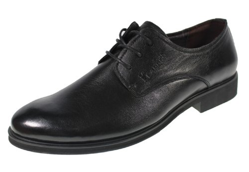 YEARCON 意尔康 日常休闲鞋真皮鞋男单鞋系带男鞋子 25ZE92309A
