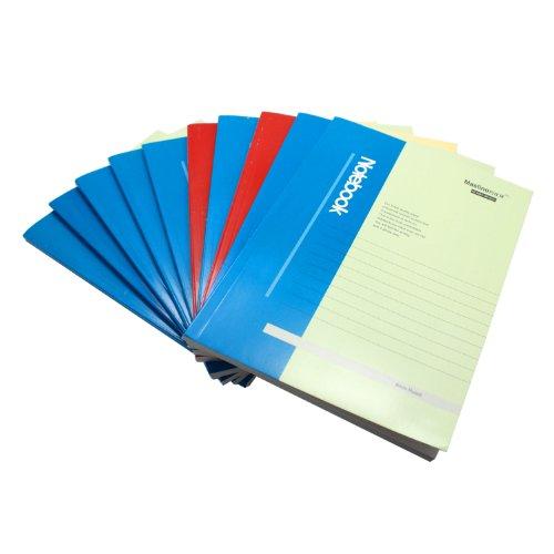 万仕龙 (亚龙纸)a5胶装本 pbd6a58012m008 (10本/包)封面混色装图片