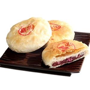 嘉华鲜花饼 经典玫瑰饼 50g 独立装 高清图片