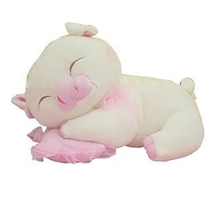 毛绒玩具睡枕猪公仔三顺猪猪小猪可爱情侣布娃娃创意抱枕猪 中号60cm