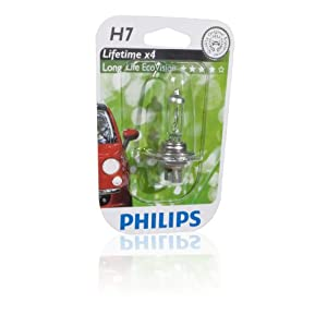 philips飞利浦恒劲光系列h7汽车灯泡高清图片