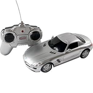 星辉 仿真遥控车模 1:24奔驰sls 银色 40100 高仿真车模,做高清图片