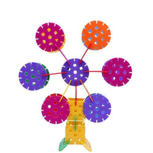 特 乐高式塑料积木雪花片积木 拼图积木 儿童拼插益智拼装玩具 智力