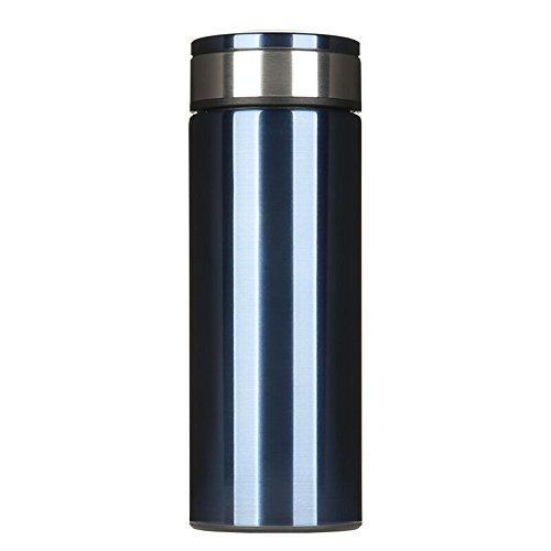 万象h11w大容量不锈钢双层真空保温杯男士创意直身杯办公实用水杯家用