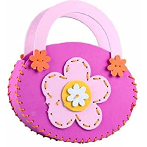 手工包diy制作包包挎包幼儿园手工缝制立体