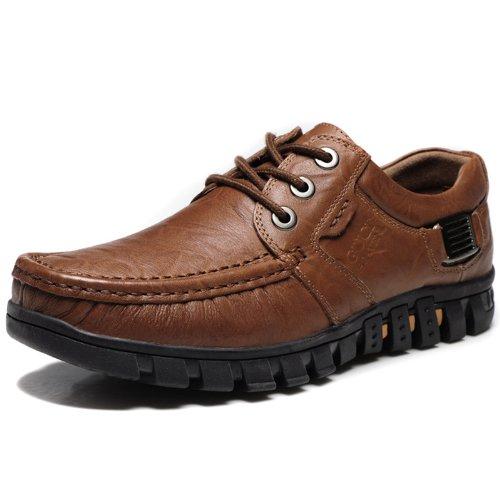Guciheaven 古奇天伦 新款英伦时尚 真皮 男士 商务休闲鞋子547