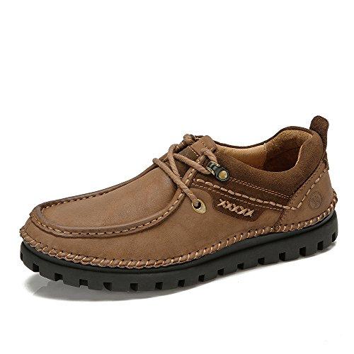 骆驼牌 正品 秋冬新款男鞋 真皮系带男士鞋子休闲男鞋W432306010