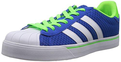 Adidas NEO 阿迪达斯运动生活 BASKETBALL 男 休闲篮球鞋 BBNEO CLASSIC LT F76372 蓝/FTWR 白/太阳能 骑士绿 44 (UK 10)