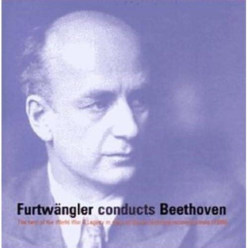 进口CD 贝多芬 交响曲 序曲4CD 富特文格勒