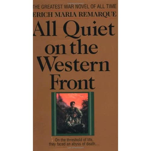 the problem of language in all quiet on the western front german literature All quiet on the western front (1930) reference view this is an english language film adapted from a novel by german author erich maria remarque.