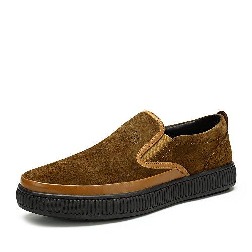 Camel 骆驼男鞋 2014秋季新款 韩版潮流套脚懒人鞋日常男士鞋子 A432060080