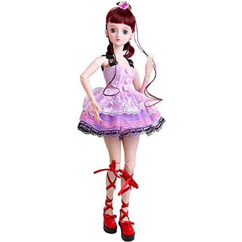 娃娃艾萌精灵梦叶罗丽商品仙子芭比娃娃套装动漫娃娃系列(60cm子宫脱垂好了可以抱玩具不图片