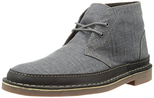 Clarks Men's Bushacre Rand Chukka Boot, Grey, 11 M US