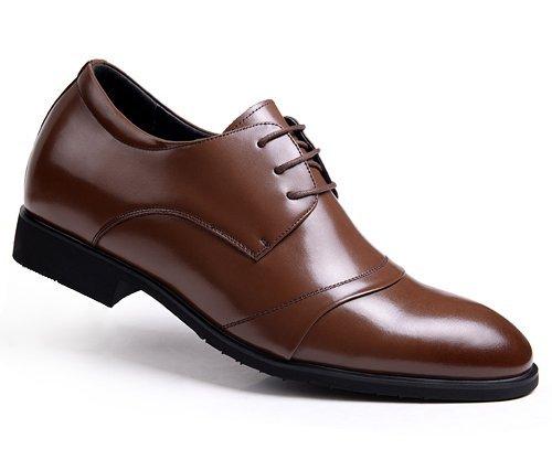 Gog/高哥 高哥男士内增高鞋男 增高鞋男式6.6厘米 内增高皮鞋男 42421