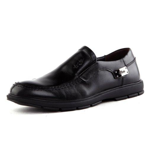 Tony Johnson/托尼琼斯TONY JOHNSON 托尼琼斯 秋季新品透气牛皮商务休闲套脚男士皮鞋 Q5563313