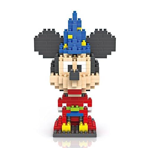 德国 创意拼装 乐高式钻石颗粒积木 经典卡通系列 迪士尼系列-米奇