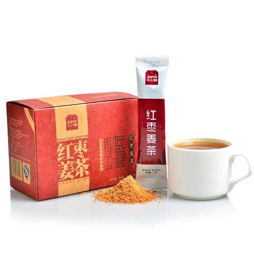 简品100 红枣姜茶  15袋/盒 180g袋泡茶-图片