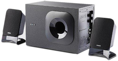 Edifier漫步者 R201T12  2.1声道音箱(黑色 内外兼修 超500万销量)-图片