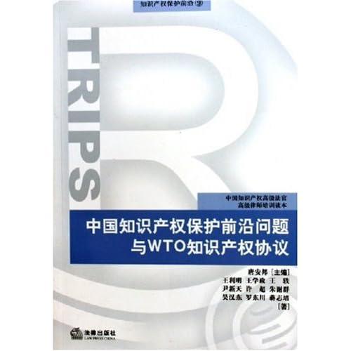 中国知识产权保护前沿问题与wto知识产权协议/知识产权保护前沿