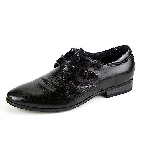 PLO·CART保罗盖帝男鞋 正品尖头韩版真皮休闲青年软皮男士皮鞋男