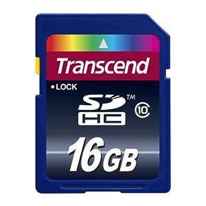 Transcend 创见 SDHC Class10 16G SD卡,69元包邮