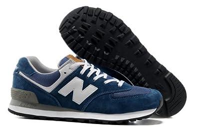 New Balance 新百伦 574五环系列 时尚 旅游 运动 跑步鞋 男士潮流鞋 新成NB:20微紫蓝
