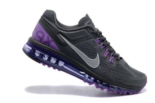 Nike 耐克 Air Max 2013 系列 全掌气垫 网面 透气 缓震 抓地 男子休闲运动鞋 554886-005