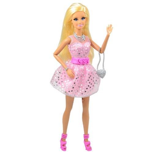 Barbie 芭比 娃娃玩具  梦想豪宅之会话芭比BBX85-图片