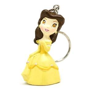 甜蜜城堡 公主钥匙链 经典可爱公主公仔挂件 (经典美女与野兽公主)