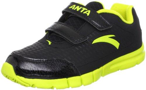 ANTA 安踏 跑步系列 男童 跑步鞋 黄绿/黑色 34 31245516-3
