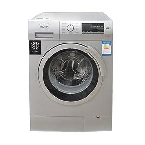 SIEMENS 西门子5.6公斤滚筒洗衣机WS10M368TI(银色)