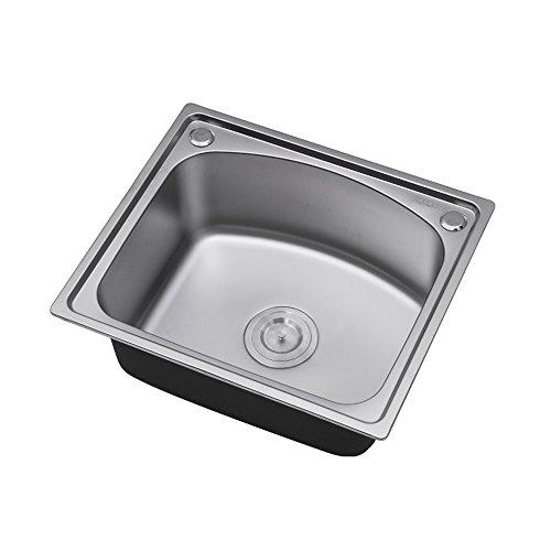 瑞士希箭 水槽单槽 水槽套餐 厨房水槽 304不锈钢洗菜盆洗碗池 500*420MM 五年质保 全场满499赠价值99工具箱套装(单槽裸槽套餐)-图片